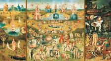 Градината на земните удоволствия - Йеронимус Бош (Jeroen Bosch) -
