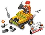 Авариен строителен автомобил - Детски конструктор - играчка