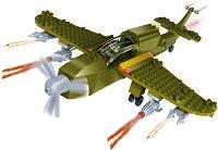 """Военен самолет - Детски конструктор от серията """"BanBao Defence Force"""" -"""