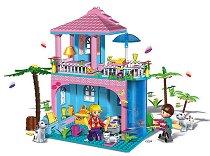 Къща на брега на морето - Детски конструктор - играчка
