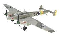 Военен изтребител - Messerschmitt Bf 110 E-1 - Сглобяем авиомодел -