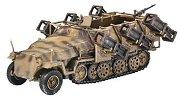 Военно превозно средство - Sd.Kfz.251/1 Ausf. C - Сглобяем модел -