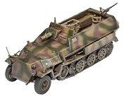 Военно превозно средство - Sd.Kfz.251/9 Ausf. C - Сглобяем модел -