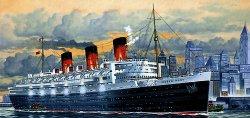 Лайнер - Queen Mary - Сглобяем модел -