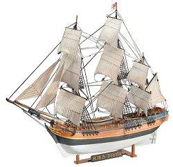 Фрегата - H.M.S. Bounty - Сглобяем модел -