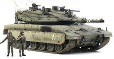 Танк - Merkava MK IV LIC - Сглобяем модел -