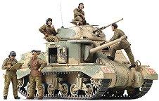 Танк - M3 Grant EL-Alamein - Сглобяем модел -