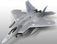 Военен самолет - F-22A Air Dominance Fighter - Сглобяем авиомодел -
