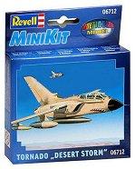 """Военен изтребител - Tornado """"Desert Storm"""" - Сглобяем авиомодел - макет"""