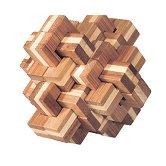 Ананас - 3D пъзел от бамбук -