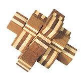 Кубче - 3D пъзел от бамбук -