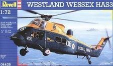 Военен хеликоптер - Westland Wessex HAS3 - Сглобяем авиомодел -
