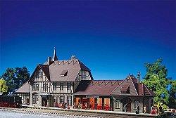 ЖП гара - Schwarzburg station - Сглобяем модел -