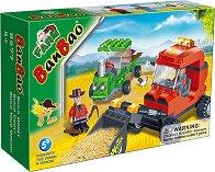 Багер и трактор - Детски конструктор -