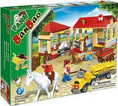 Селскостопански двор - Детски конструктор - играчка