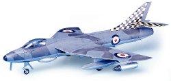 Военен самолет - Hawker Hunter F.6 - Сглобяем авиомодел -