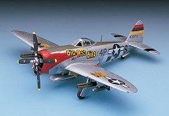 Изтребител - P-47D Nose Art - Сглобяем авиомодел -