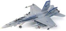 Военен изтребител - F/A-18C Hornet - Сглобяем авиомодел - макет