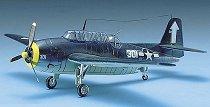 Военен самолет - U.S. Navy Torpedo Bomber TBF-1 Avenger - Сглобяем авиомодел - макет