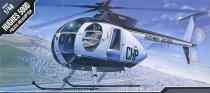 Полицейски хеликоптер - Hughes 500D - Сглобяем авиомодел -