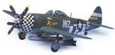 Изтребител - Republic P-47D Thunderbolt - Сглобяем авиомодел -