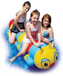 Гъсеница - Надуваема играчка за плуване -