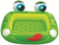 Детски басейн - Жаба - Надуваема играчка - творчески комплект