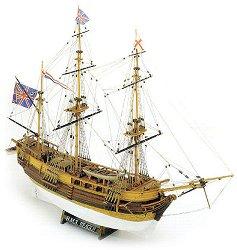 Барк - H.M.S. Beagle - Сглобяем модел от дърво - макет