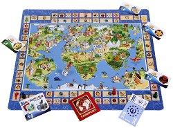 Околосветско пътешествие - Семейна информационно-образователна игра -