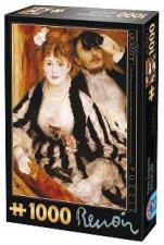 La loge - Пиер-Огюст Реноар (Pierre-Auguste Renoir) - пъзел