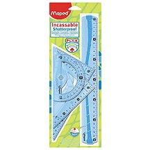 Гъвкава линия, триъгълници и транспортир - Flex - продукт