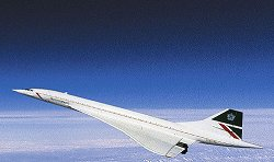 Пътнически самолет - Concorde British Airways -