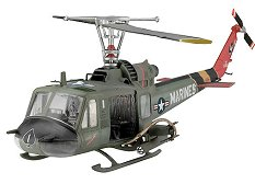 Военен хеликоптер - Bell UH-1 Huey Hog - Сглобяем авиомодел - макет
