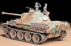 Танк - Panther G (Late Version) - Сглобяем модел -