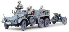 Военен камион с ремарке - оръдие Krupp Towing Truck -