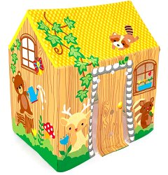 Детска къщичка за игра - хартиен модел