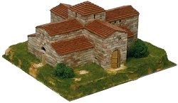 San Pedro church - Сглобяем модел от тухлички -