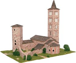Iglesia de Son - Сглобяем модел от тухлички - макет