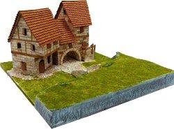 Country house - Сглобяем модел от тухлички - макет
