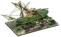 Останки от потънал кораб - Il Relitto - Сглобяем модел от дърво -