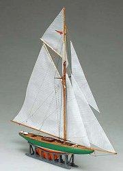 Ветроходна лодка - Shamrock - Сглобяем модел от дърво -