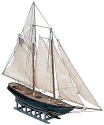 Ветроходна яхта - America goletta - Сглобяем модел от дърво -