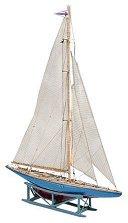 Ветроходна лодка - Endeavour II - Сглобяем модел от дърво - макет