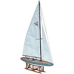 Ветроходна яхта - Star Genzianella - Сглобяем модел от дърво -