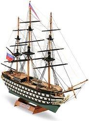 Фрегата - Alexander Newsky - Сглобяем модел от дърво - макет