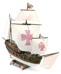 Каравела - Pinta - Сглобяем модел от дърво -