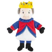 Цар - Петрушка - Плюшена играчка за куклен театър - играчка