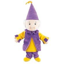Магьосник - Петрушка - Плюшена играчка за куклен театър - играчка