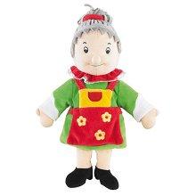 Баба - Петрушка - Плюшена играчка за куклен театър -