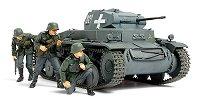 Танк - German Panzerkampfwagen Ausf.C - Sd.Kfz.121 - Сглобяем модел -